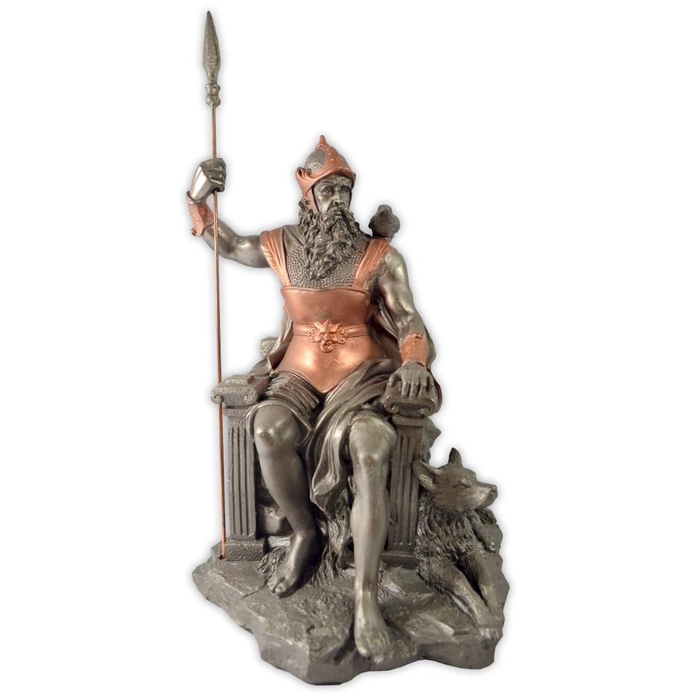 Deus Odin - no trono modelo 2