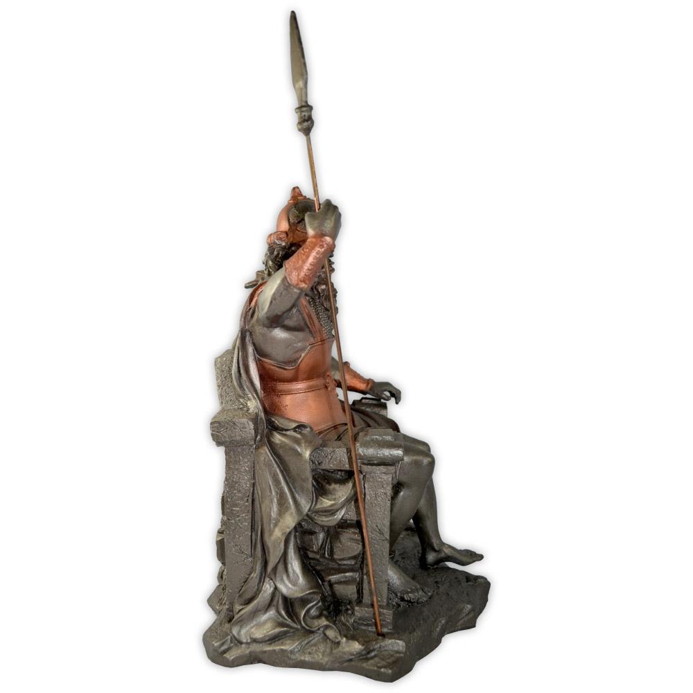 Odin no trono, Deus da Guerra e Senhor dos Mortos