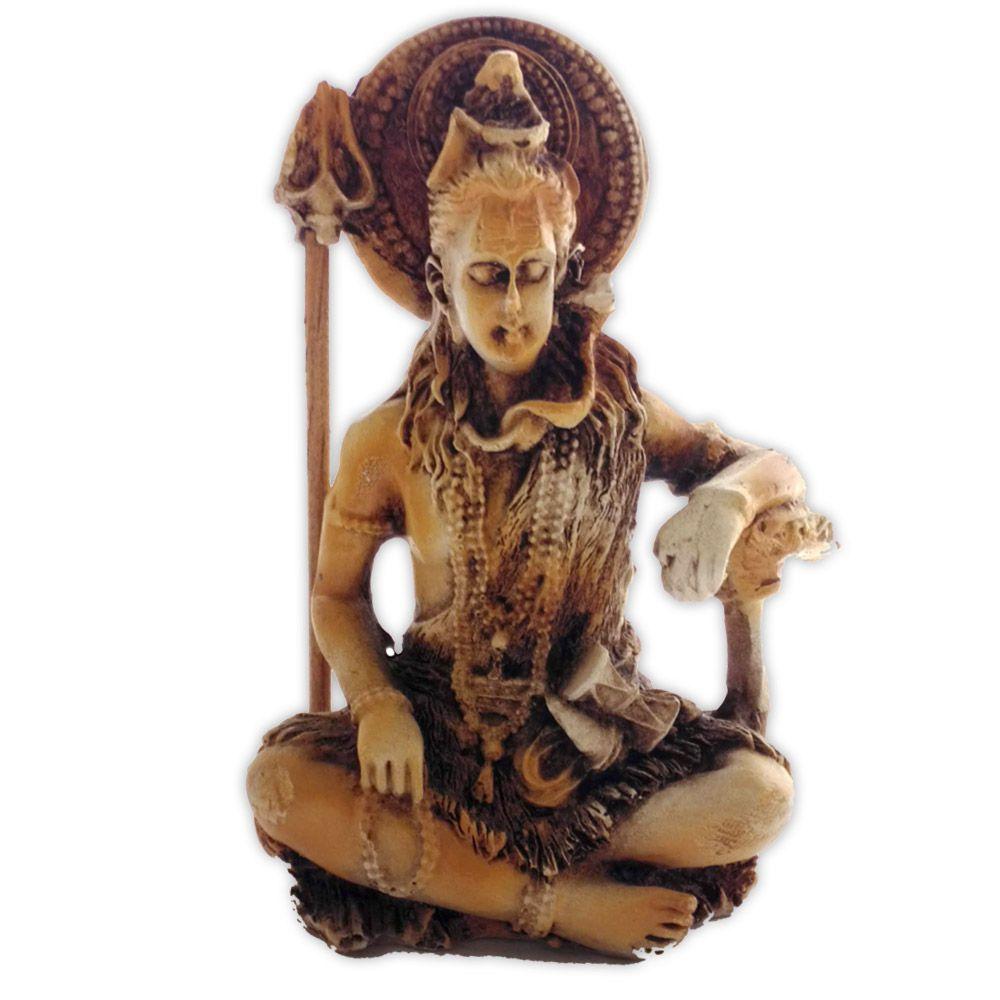 Deus Shiva sentado