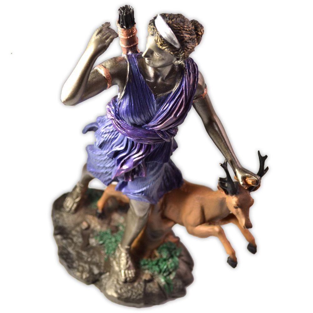 Deusa Diana - Colorida