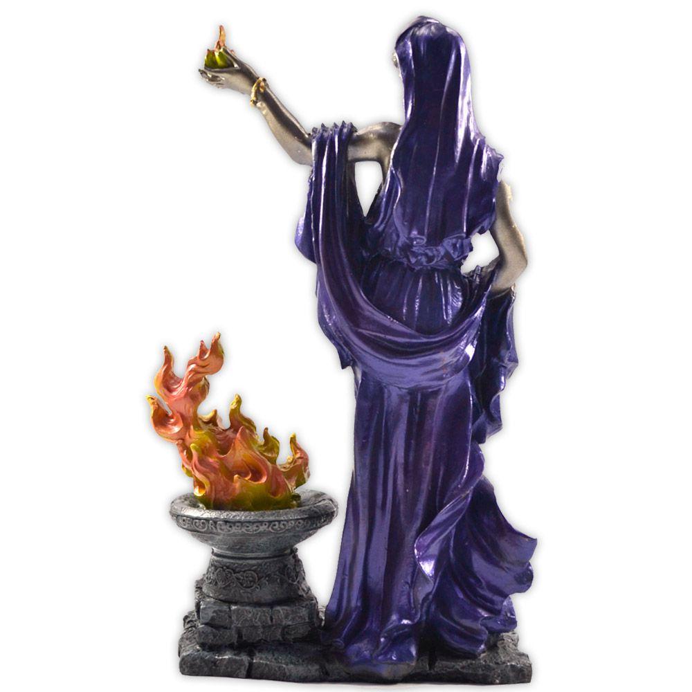 Héstia, Deusa do Fogo Sagrado e da Família - Colorida mod. 1