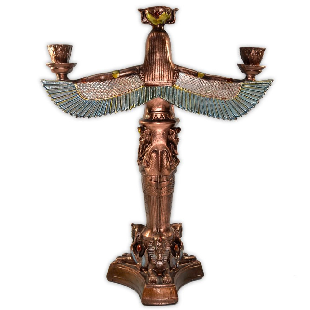 Deusa Ísis castiçal