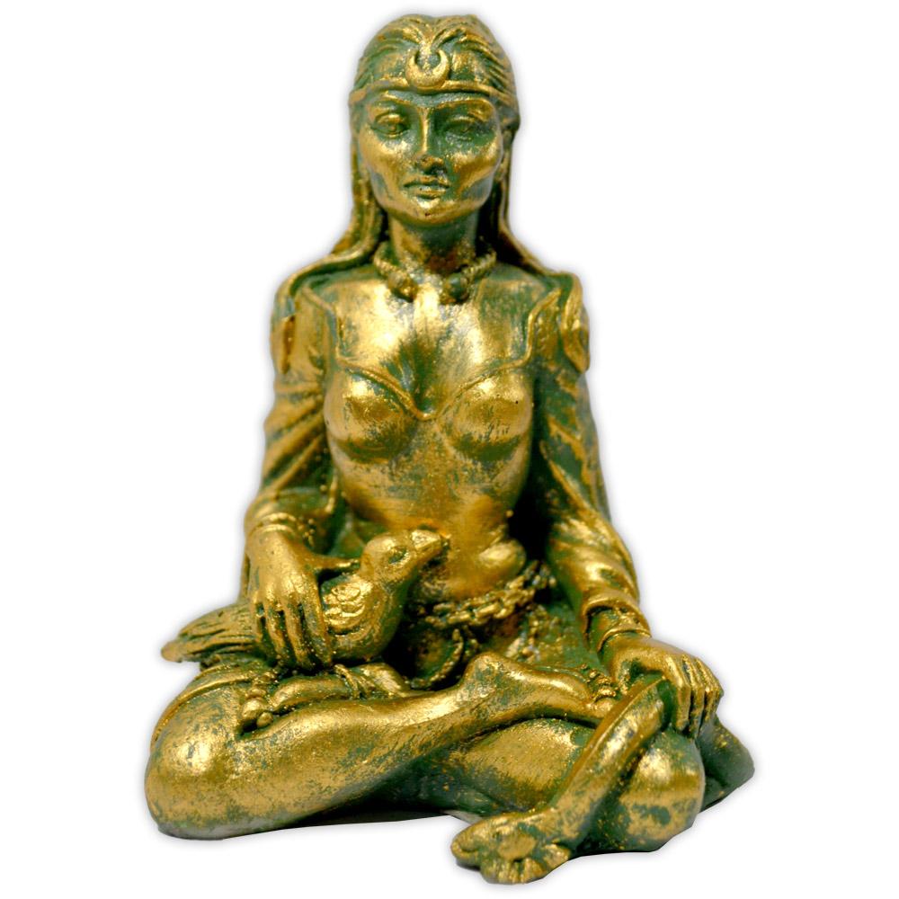 Morrighan, Deusa da Guerra e do Renascimento - Verde Dourado
