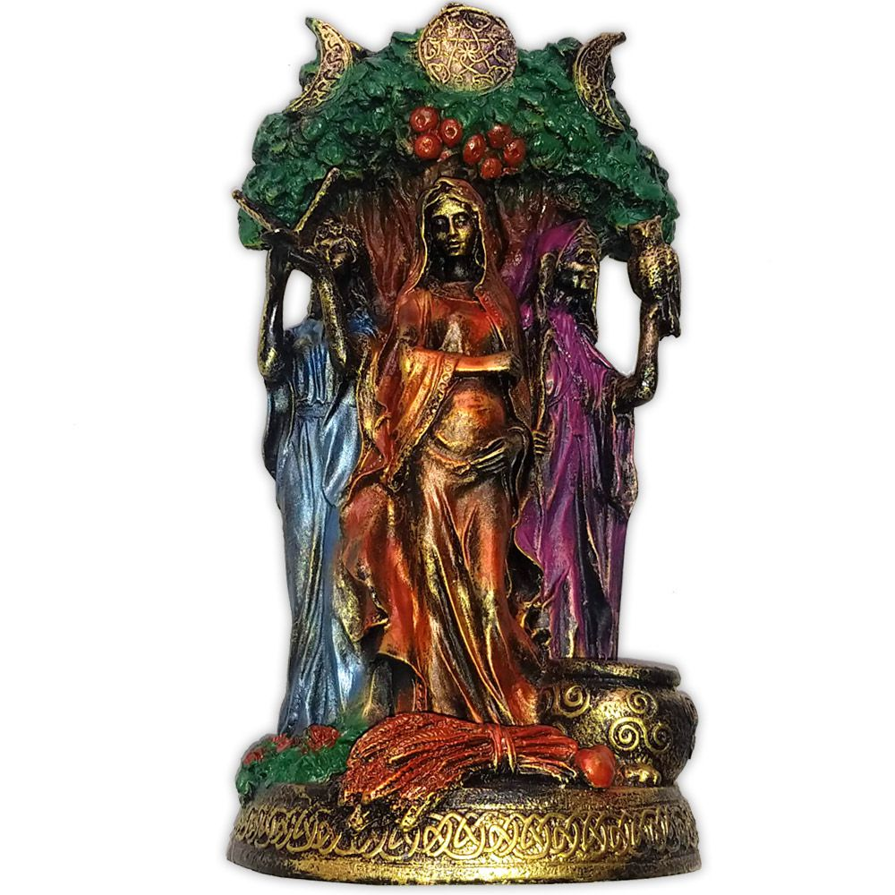 Deusa Tríplice, As Três Faces da Deusa - Colorida