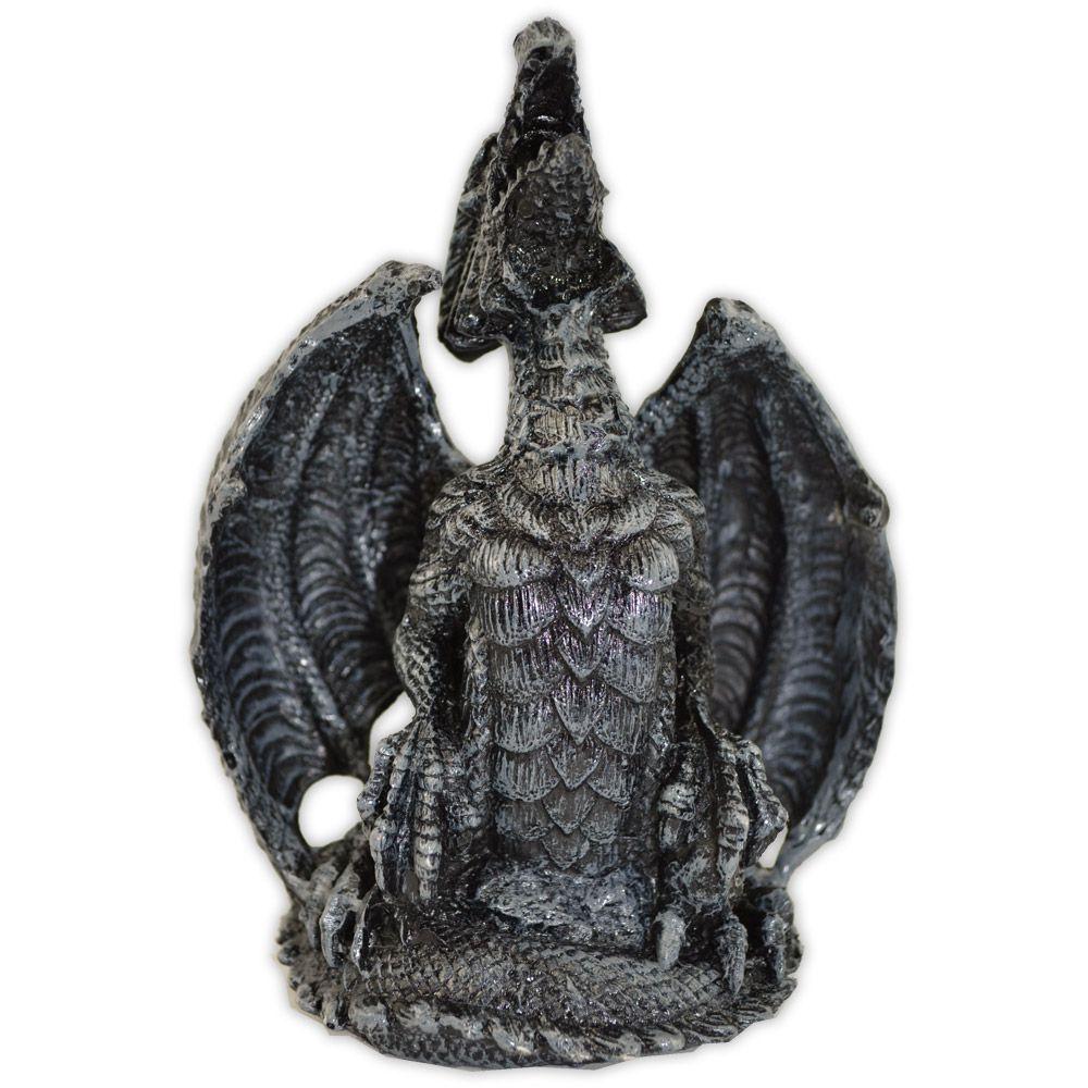 Dragão Prateado - Símbolo de Sabedoria e Força
