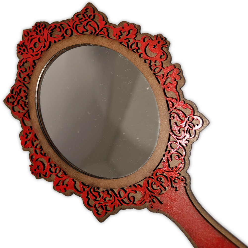 Espelho Mágico - Triluna Vermelho