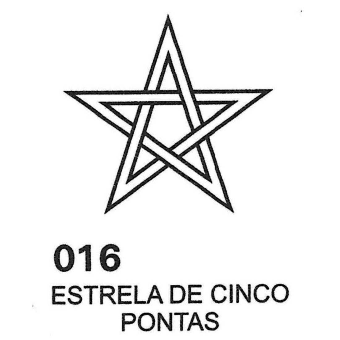 Gráfico Estrela 5 pontas PVC 2200