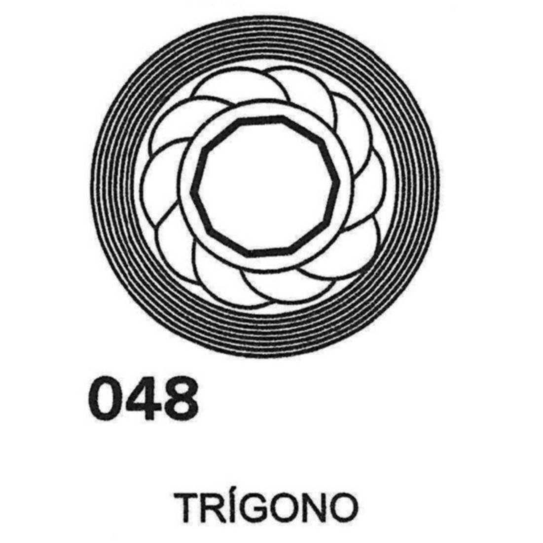 Gráfico Trígono PVC 2200