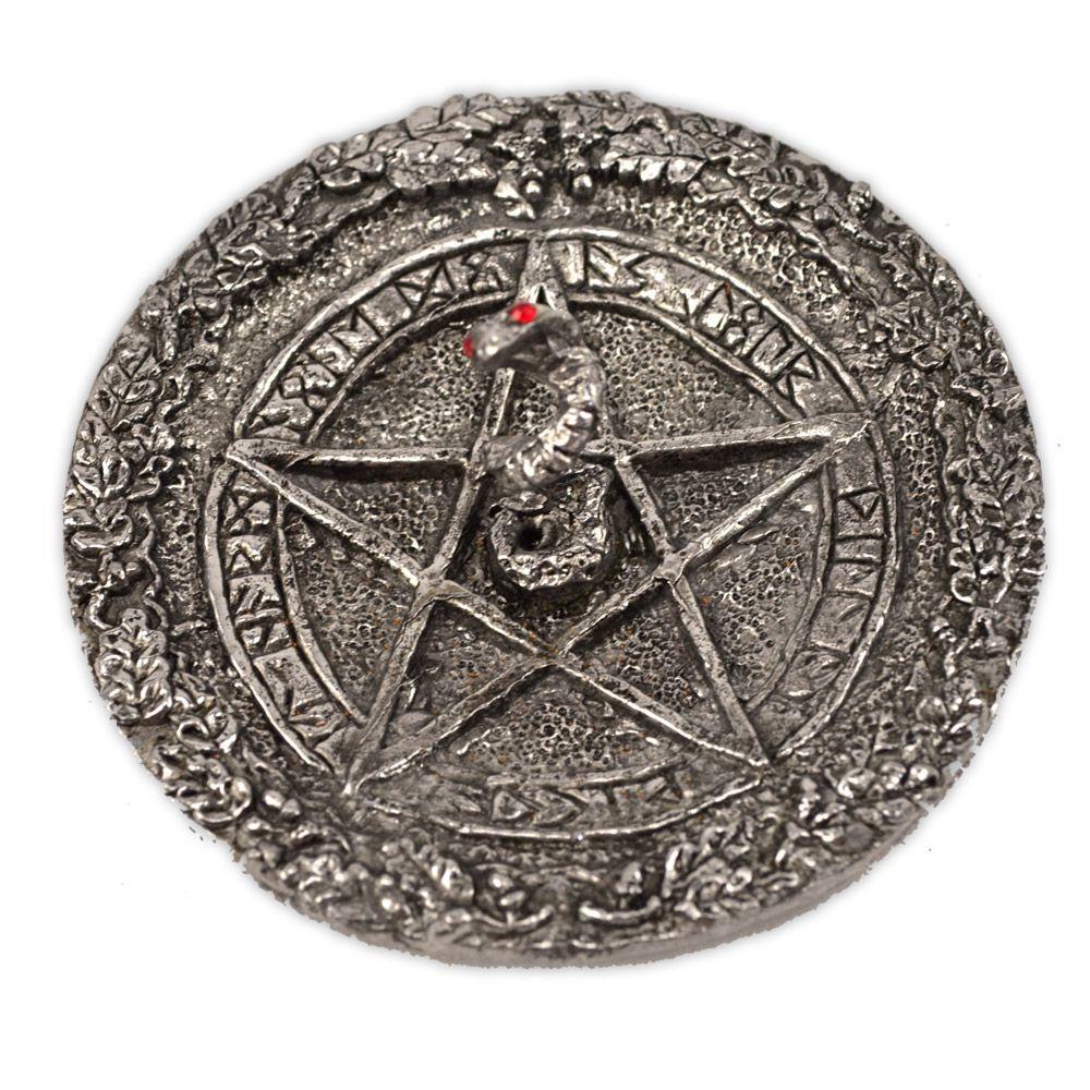 Incensário Prato - Lei Wicca