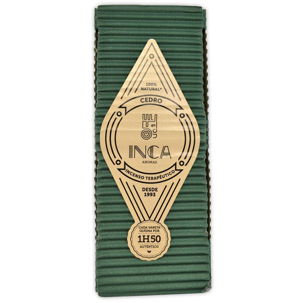 Incenso Terapêutico Artesanal Inca Cedro - Clareza