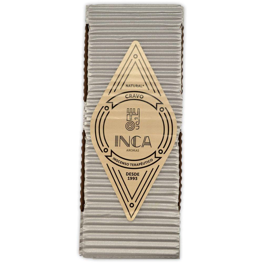Incenso Terapêutico Artesanal Inca - Cravo