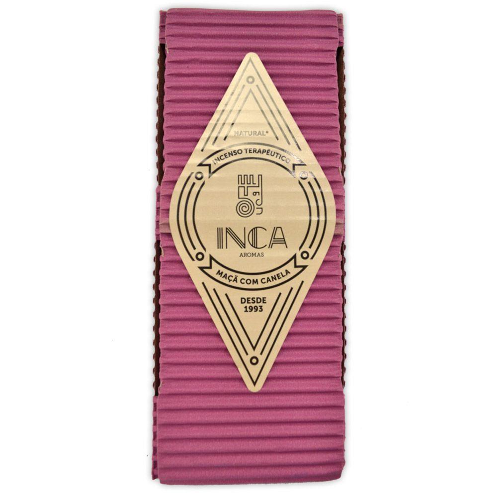 Incenso Terapêutico Artesanal Inca - Maçã com Canela