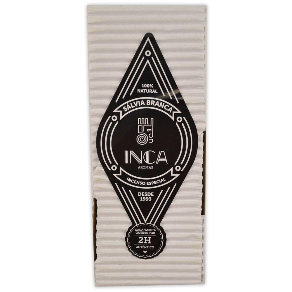 Incenso Terapêutico Artesanal Inca - Sálvia Branca