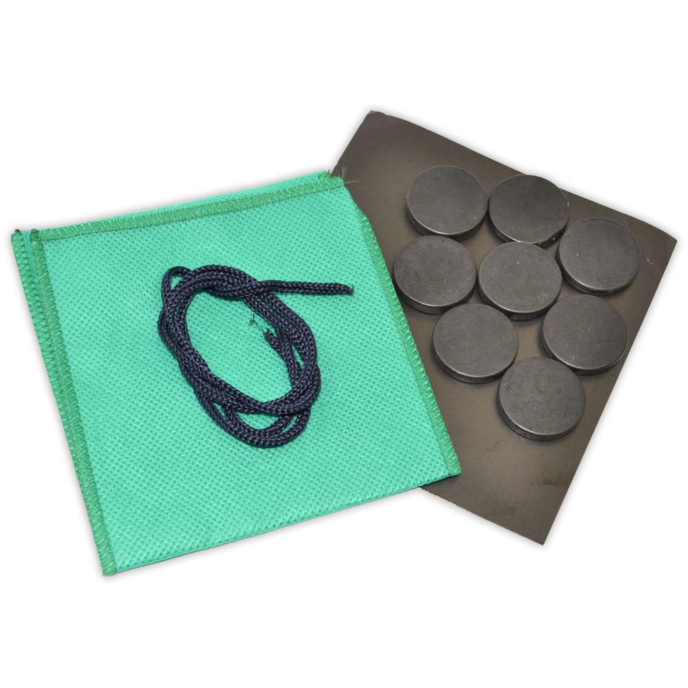 Kit 8 Pedras Podal - Basalto Vulcânico
