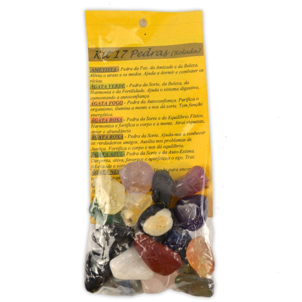 Kit Pedras Roladas - 17 Tipos