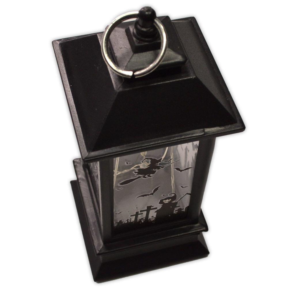 Luminária Lanterna Halloween com LED - modelo 2