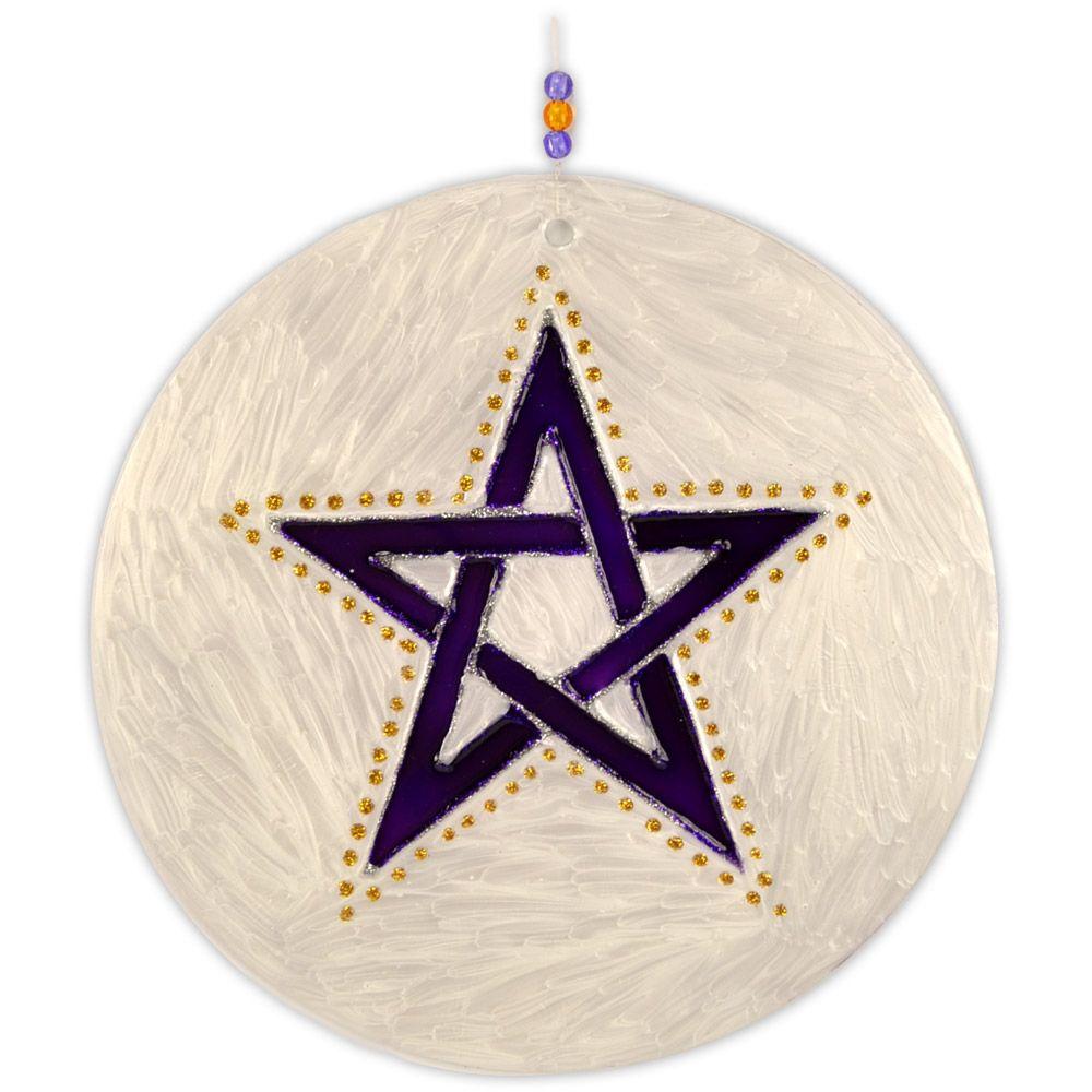 Mandala Pentagrama 12cm
