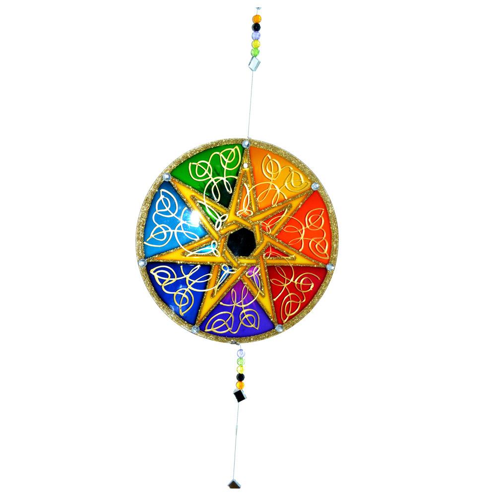 Mandala Septagrama 20cm
