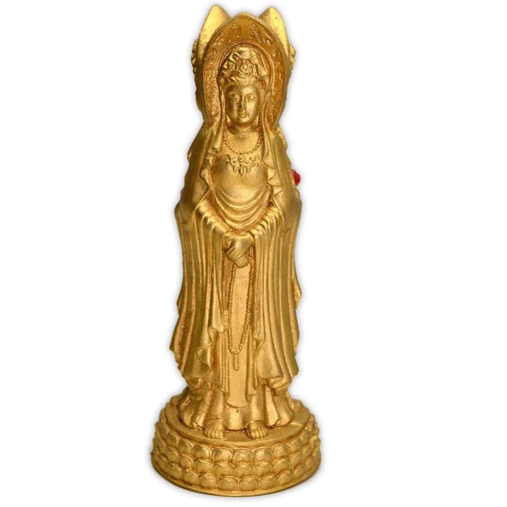 Kuan Yin, Deusa da Misericórdia e Compaixão - Dourado
