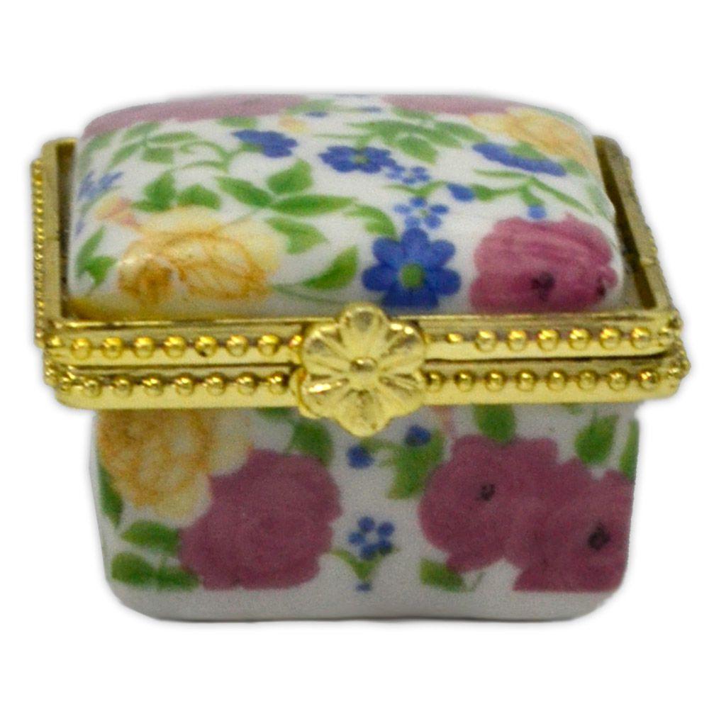 Potinho de cerâmica para Unguento - Quadrado