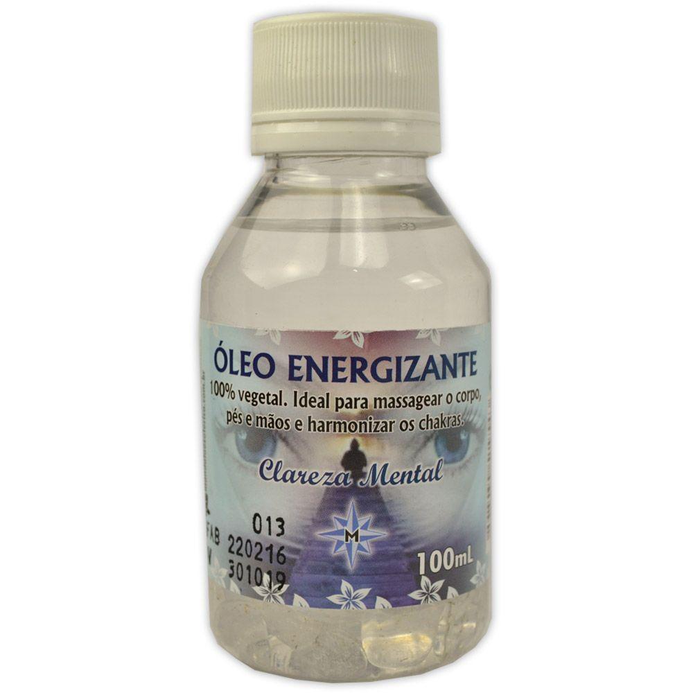 Óleo Energizante para Massagem - Clareza Mental