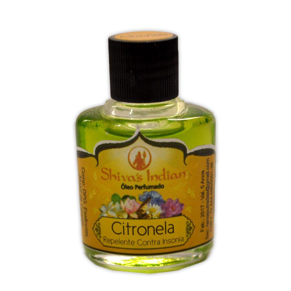 Óleo Shivas Indian Citronela - Repelente Contra Insônia