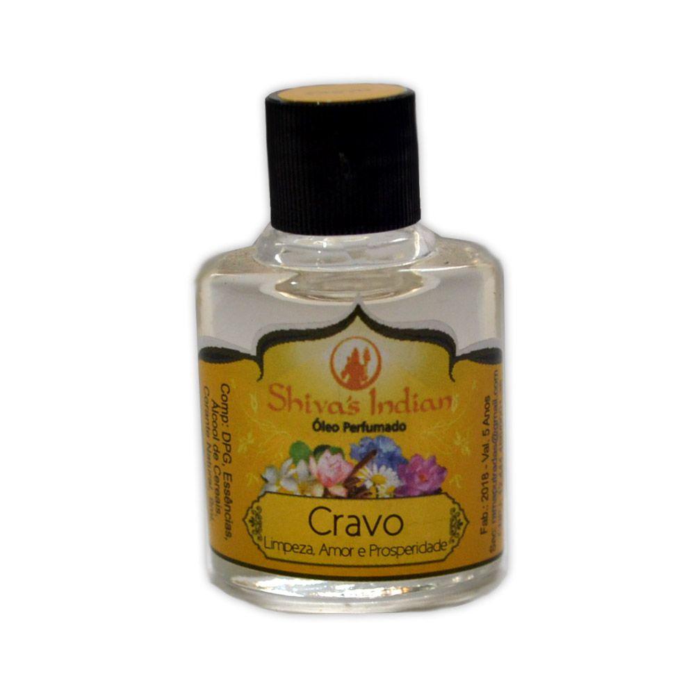 Óleo Shivas Indian Cravo - Limpeza, Amor e Prosperidade