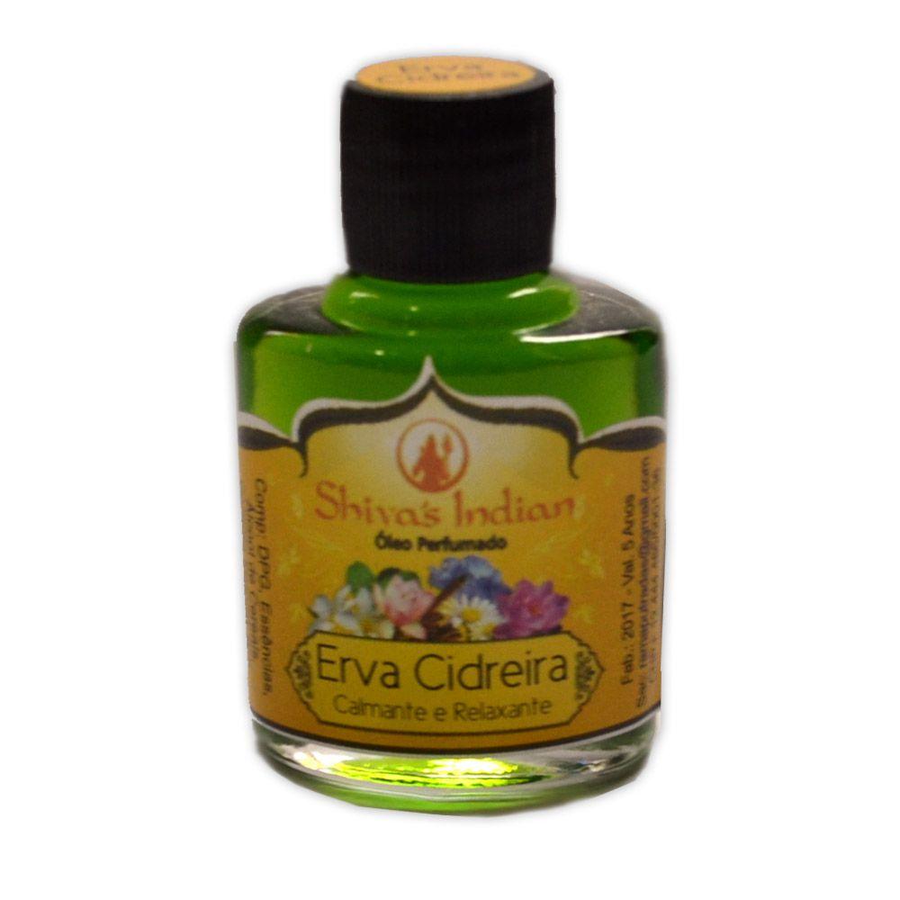 Óleo Shivas Indian Erva Cidreira - Calmante e Relaxante