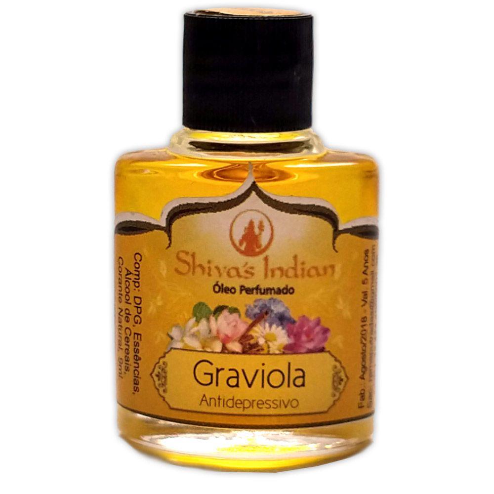 Óleo Shivas Indian Graviola - Antidepressivo