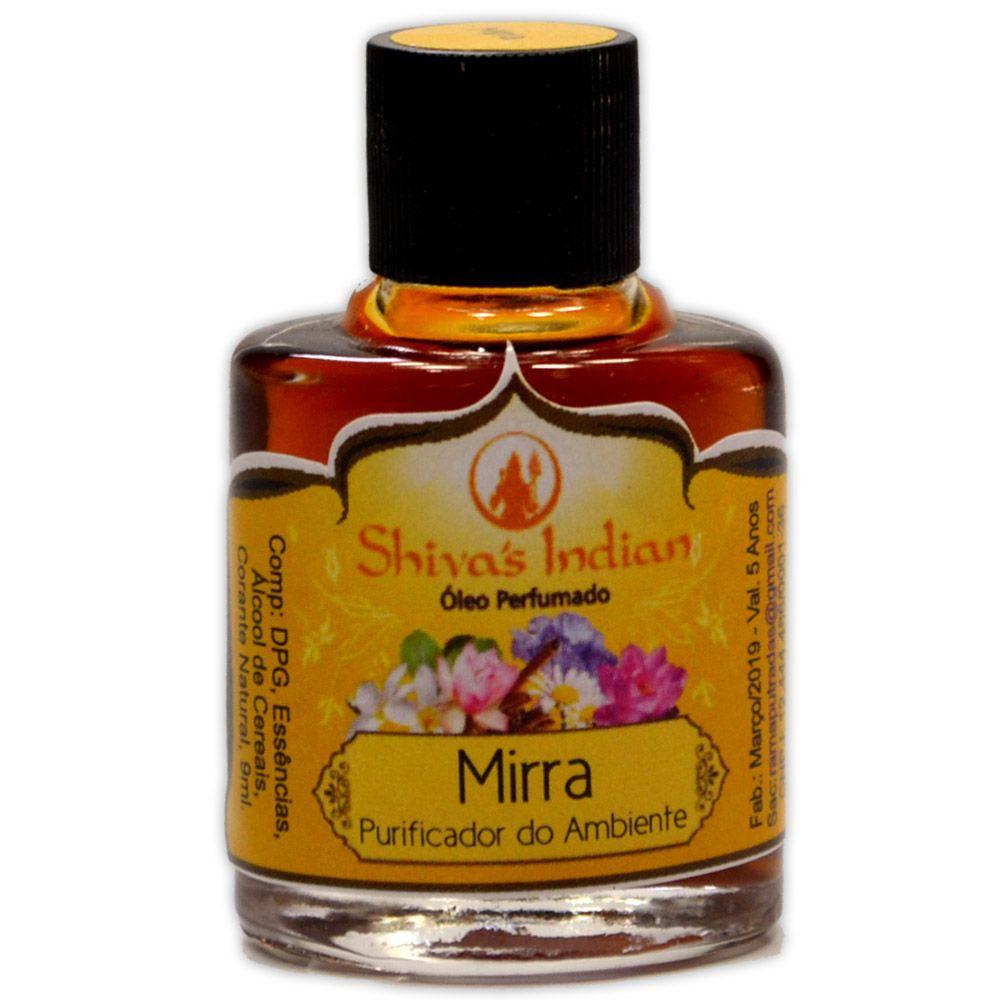 Óleo Shivas Indian Mirra - Purificador do Ambiente