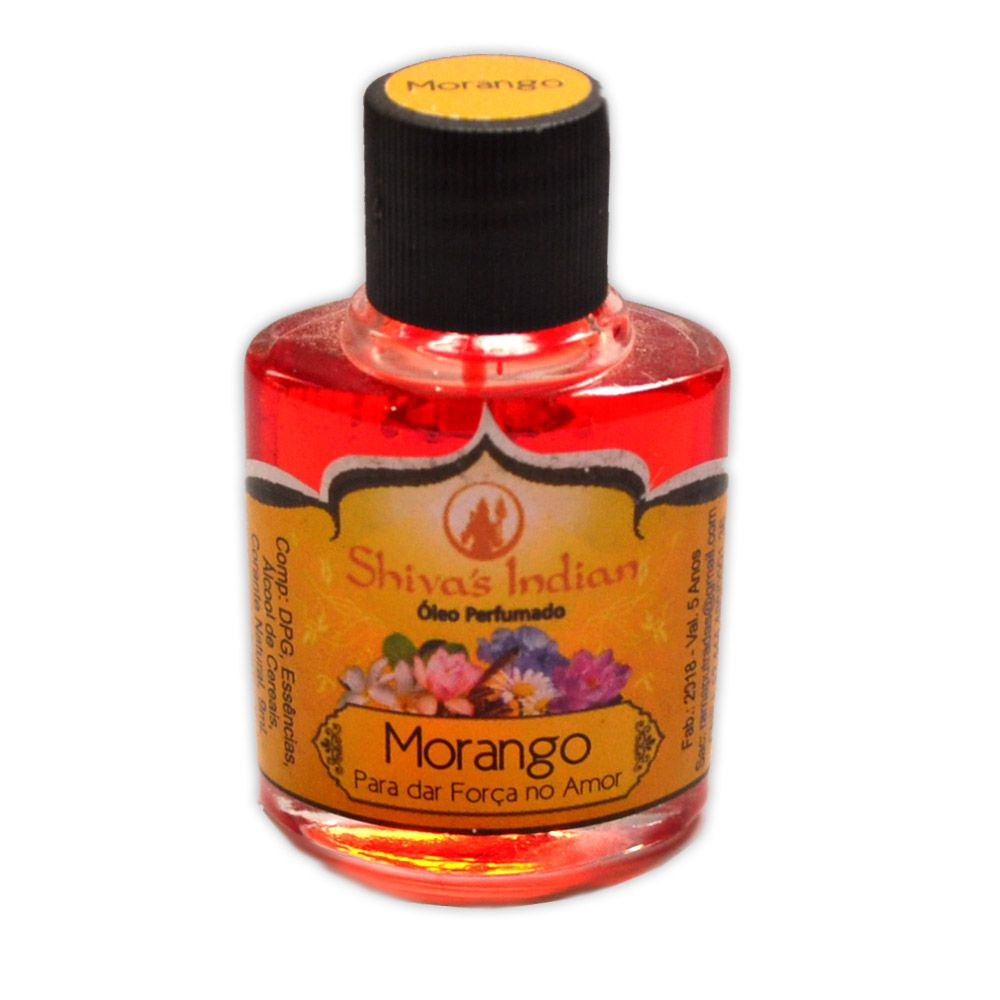 Óleo Shivas Indian Morango - Força no Amor