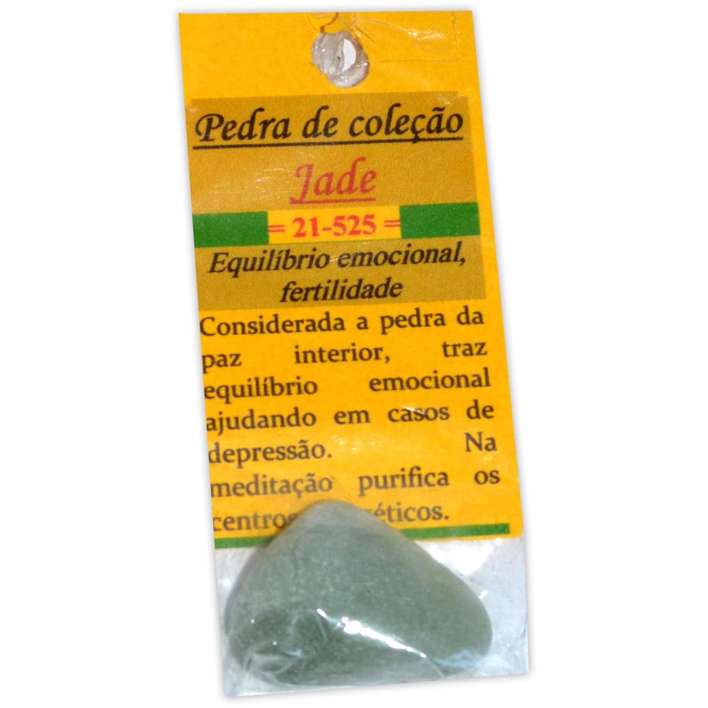 Pedra de Coleção Jade - Equilíbrio Emocional e Fertilidade