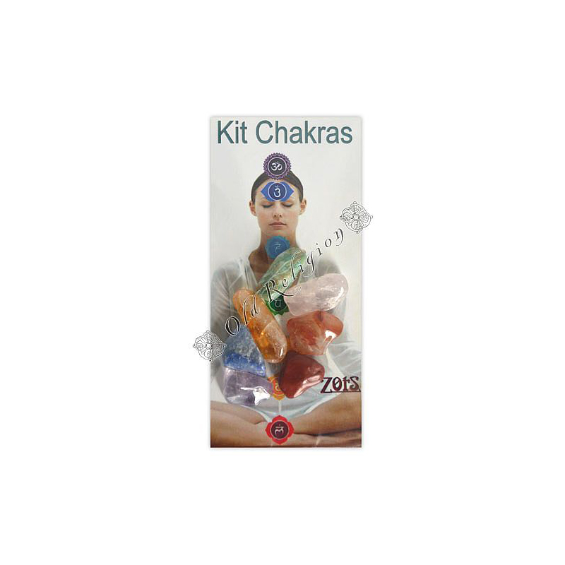 Pedras dos 7 Chakras P