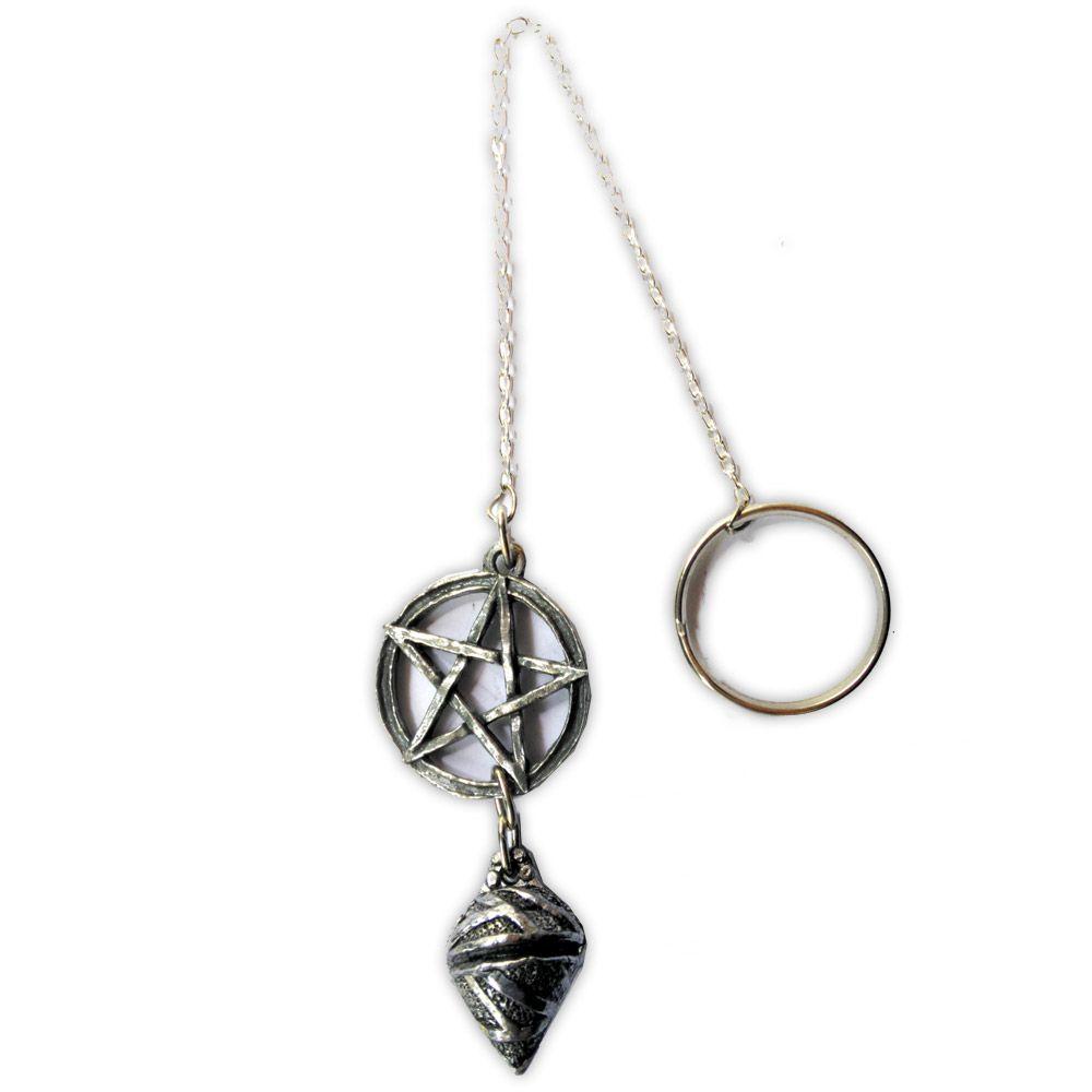 Pêndulo de estanho - Pentagrama