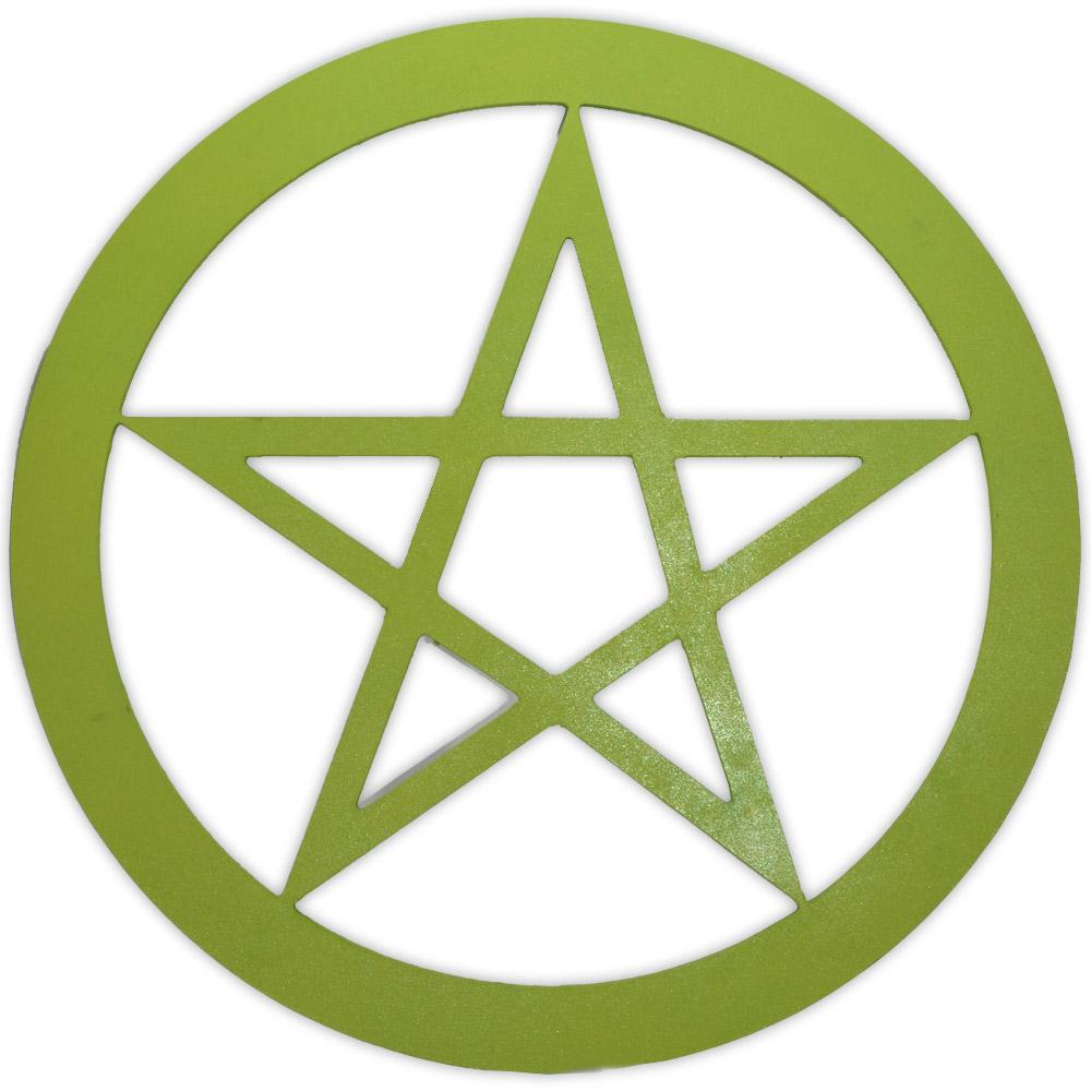 Pentagrama Grande em MDF - 40cm