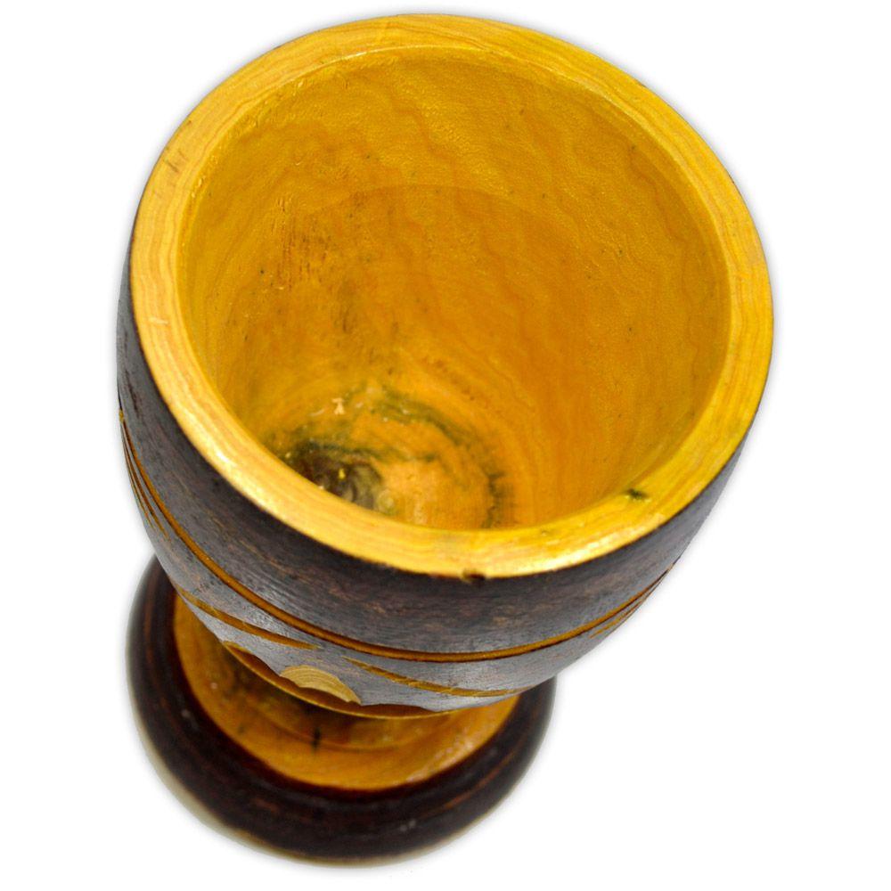 Pilão de Madeira 17cm