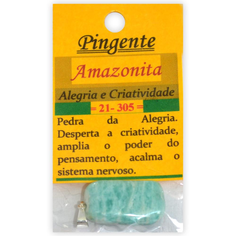 Pingente Amazonita - Alegria e Criatividade