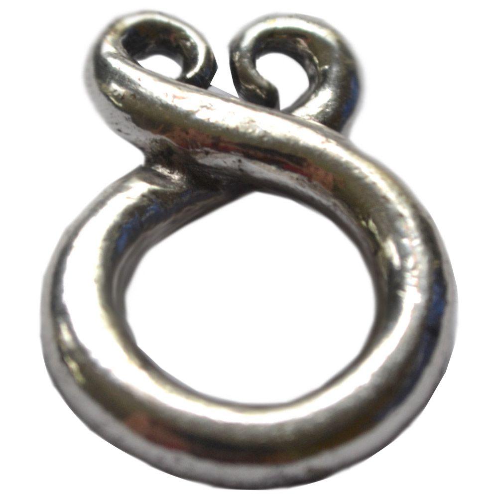 Talismã Trollkrs (peq) - Banhado a Prata