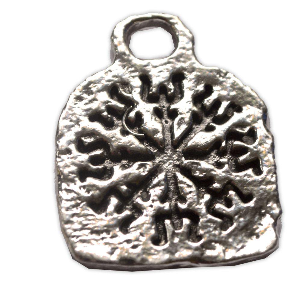 Pingente em Bronze Banhado a Prata - Elm Of Awe (masculino)