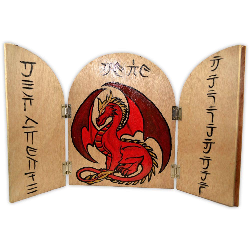 Placa Dragão