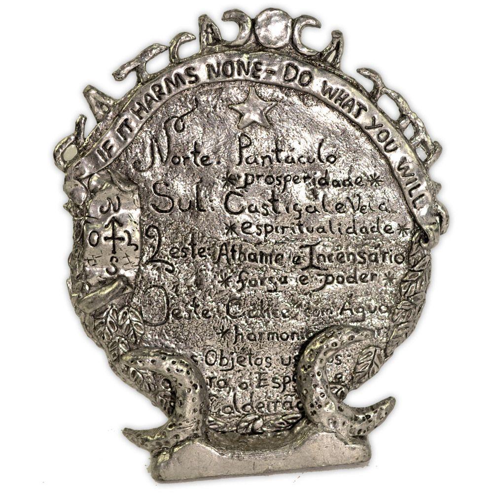 Placa para Altar Wicca