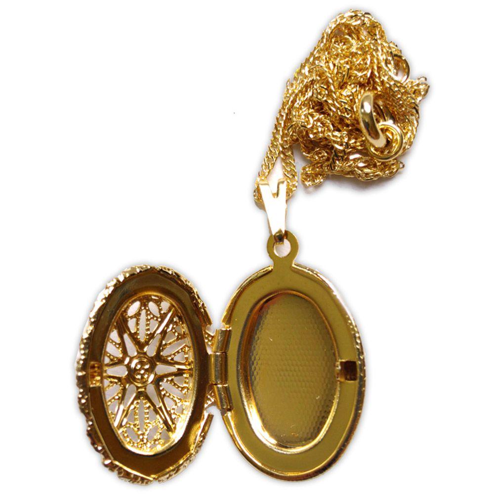 Porta Feitiço Dourado