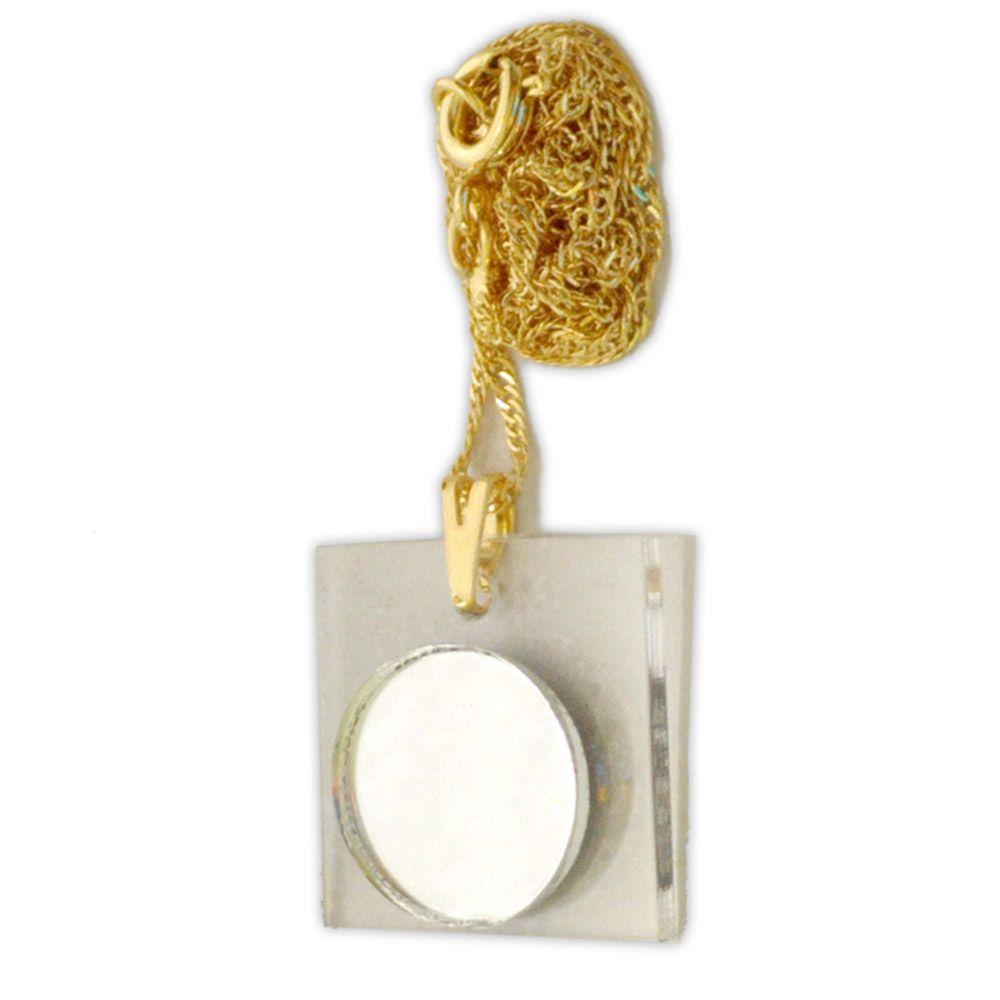 Talismã Refletor de Energias - Dourado