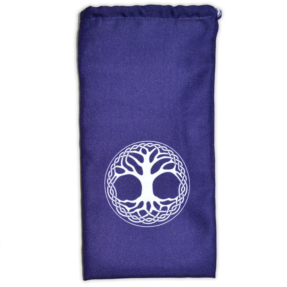 Saquinho para Oráculo Árvore da Vida - Roxo