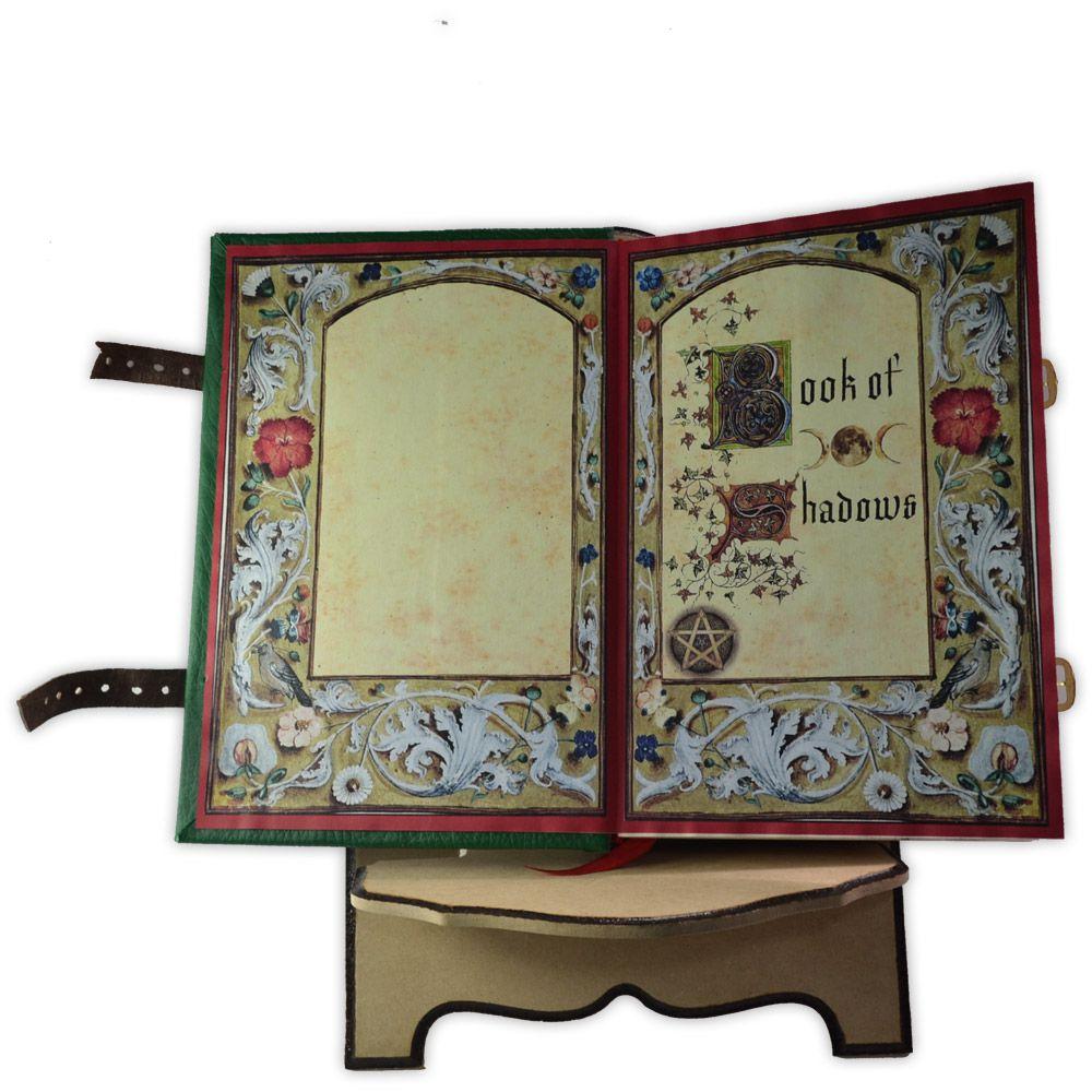 Suporte para Livro em Madeira - Triskle