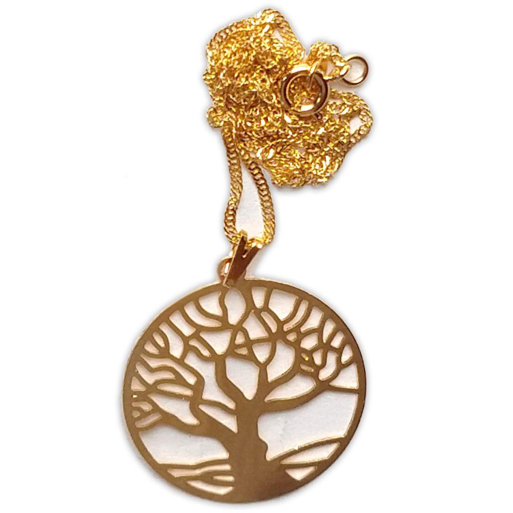 Talismã Árvore da Vida - Dourado