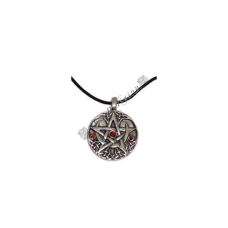 Talismã Colar Moontree Pentagrama, Proteção