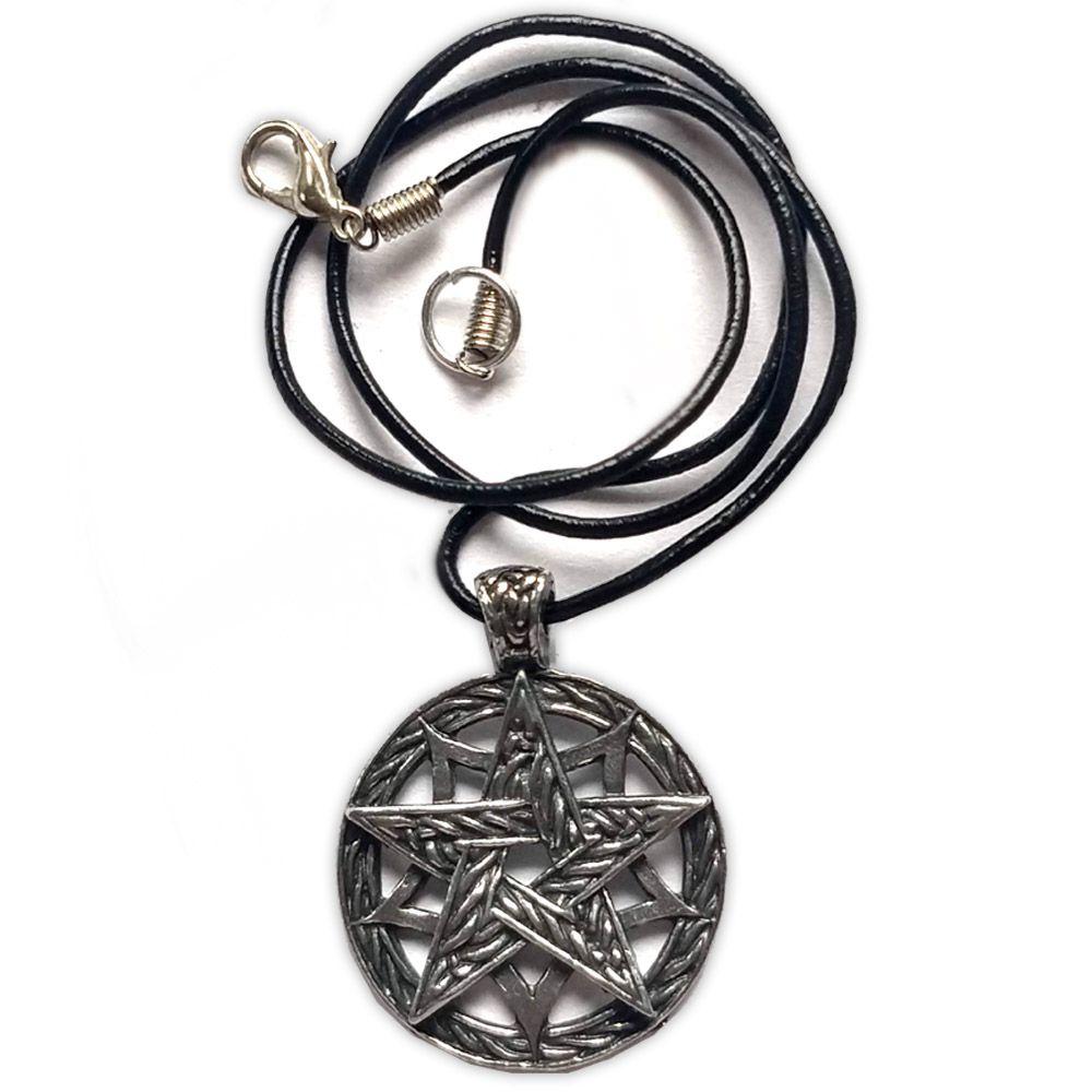 Talismã Wicca - Star Pentagrama, Proteção