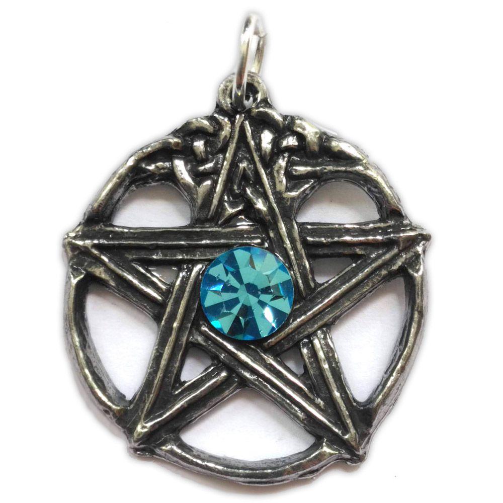 Talismã Pentagrama - Druida Swarovski