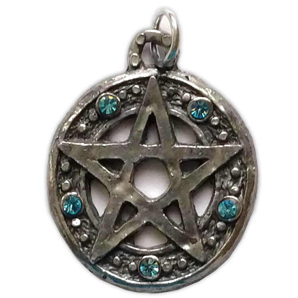 Talismã Pentagrama - Elemental Swarovski